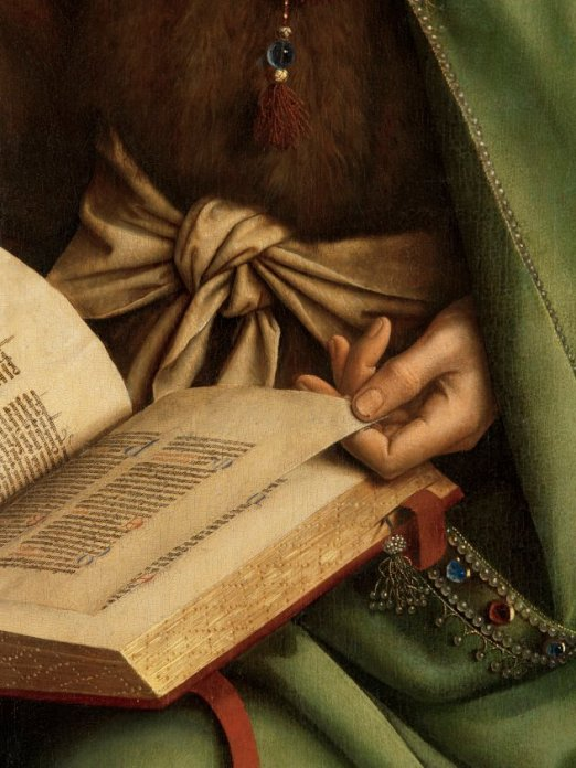 Jan Van Eyck, The Ghent Altarpiece ©Sint-Baafs Cathedral Gent, Art in Flanders vzw (Photo Hugo Maertens)