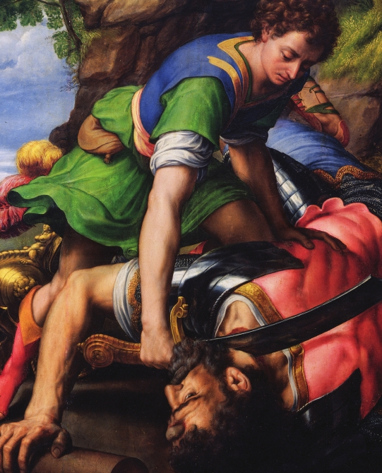 Michael Coxcie, David and Goliath ©PATRIMONIO NACIONAL